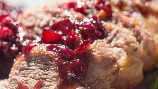 Give your #thanksgiving #menu a #simple #healthy twist by making your #homemade cranberry sauce with 50% sweet #cherries instead. They're out of season now, but frozen or dried make an easy substitute for #holiday #recipes. Happy cooking!